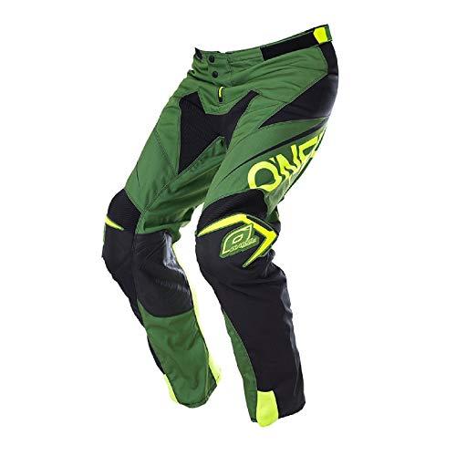 O'neal Mayhem Lite MX DH MTB Pant Hose lang Blocker grün/schwarz 2017 Oneal: Größe: 28 (44)
