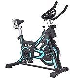 SAFGH Aptitud Interior Bicicleta giratoria Hogar Silencioso Bicicleta estática Montar Bicicleta estática para Entrenamiento aeróbico en Bicicleta Manténgase en Movimiento (Color: Azul, Tamaño: 101