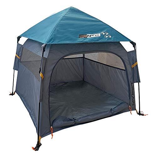 NTK Pet Genius Tent- Lightweight Pop Up Pet & Dog House - Indoor Outdoor Portable Puppy Playpen (Large)