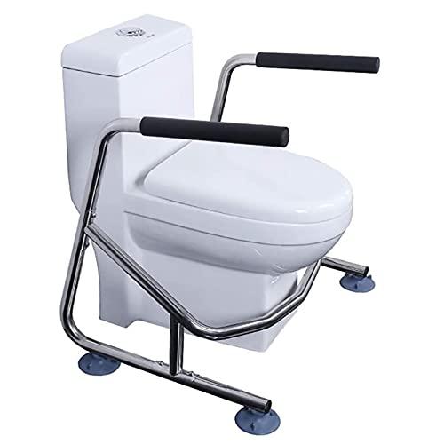 summerr Estructura de Apoyo para Inodoro, Ventosas de Estructura para Inodoro con fácil instalación para baño Asiento de Inodoro para Ancianos, discapacitados