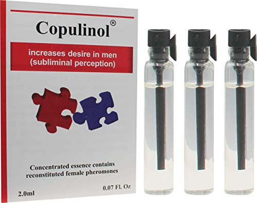 COPULINOL 2ml + 2ml + 2ml 100% Feromona para mujeres atraer a los hombres Seducirlo rápido Post