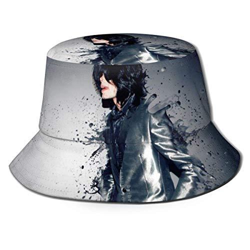 Michael Fisherman Hat Unisex impreso doble cara Folle Buet Sombrero, fácil de llevar sin deformación, disfruta del aire libre en comodidad y estilo Bla