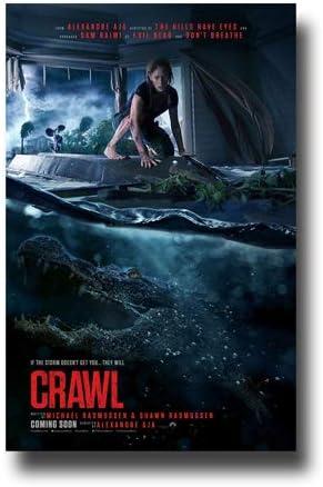Amazon Com Poster Promotor De Conciertos De Crawl Pelicula Promocional De 11 X 17 Pulgadas Sam Raimi Alligator High Water Todo Lo Demas