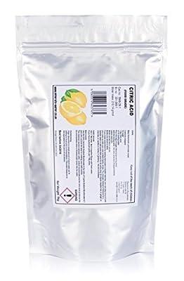 1kg Citric acid food grade! ★bath bomb,descale,home brewing/pouch