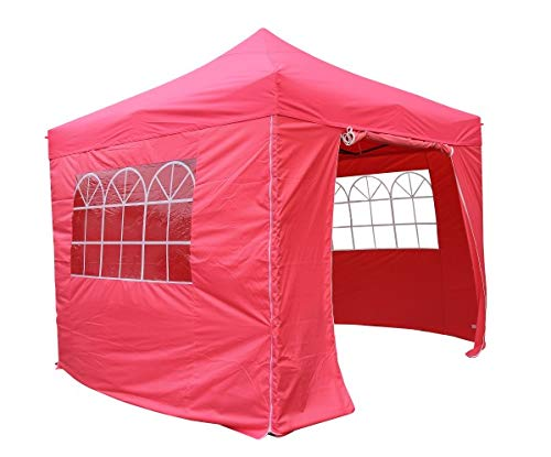 All Seasons Gazebos Heavy Duty, 100% waterproof, 3x3m Pop up Gazebo with 4 x fully waterproof superior Side Walls. 17 Colours ava