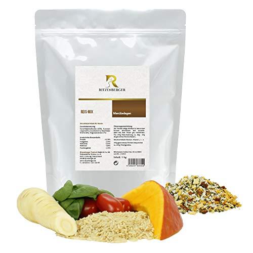 Ritzenberger Hundefutter Reis-Mix mit Kürbis   1 kg Aromapack   Ergänzungsfutter