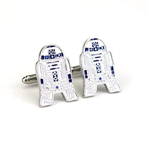 Rongxin Europeo e Americano circostante gioielli maniche Star Wars Robot Polsini (Colore: 5)