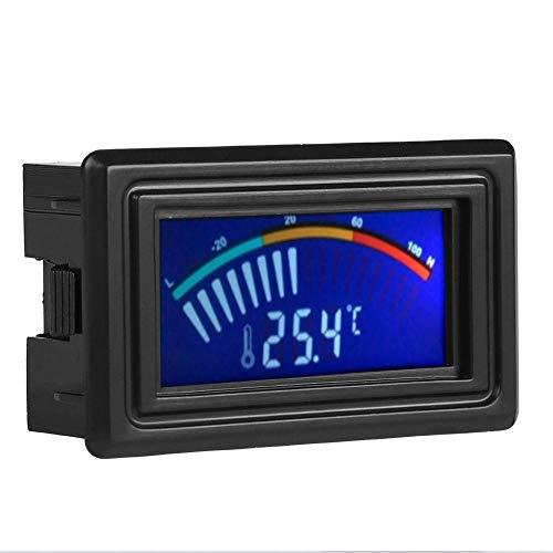 LCD-thermometer, LCD-scherm Digitale waterkoelingsthermometer Aanwijzer temperatuurindicator 5V-24V, Nauwkeurige weergave, Gemakkelijk op te nemen stroom, Directe weergave