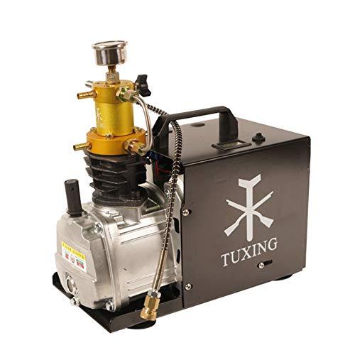 Compresor de aire automático de alta presión, 30 MPA, bomba de aire eléctrica de alta presión, 4500 psi, PCP, 300 bar, bomba de compresor de PCP, inflador para botella de inflado, 220 V (1,5 L)