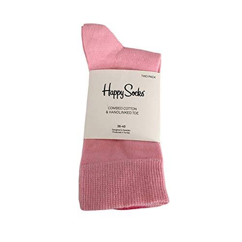 Happy Socks Sock Short Women Cotton BIPACK rosa/Fuchsie TU 36-40 - rosa/Fuchsie, TU 36-40