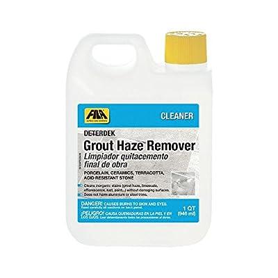 FILA DETERDEK, Grout Haze Remover and Grout Cleaner for Porcelain Tile, Hard Surface Floor, Ceramic Tile, Terracotta, Acid Resistant Stone, Eco-friendly, 1 QT