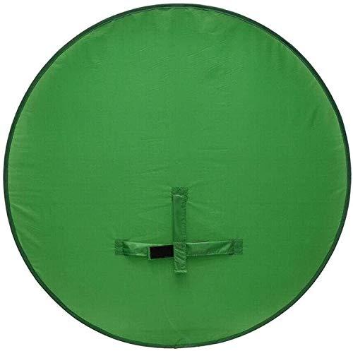 Greenscreen, Faltbar Hintergrund Greenscreen für Stuhl mit Tragetasche, Green Screen Fotostudio Hintergrund für Fotografie, Zoom, Video, Streaming, Doppelseitiger Chromakey Grün Tuch Grün