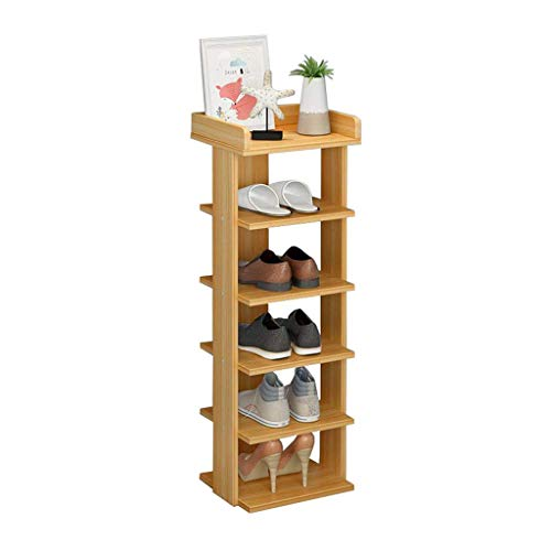 XXCHUIJU Zapato Rack Zapato de Madera Almacenamiento Almacén Múltiple Multi-Nivel Simple Tower Gabinete Espacio Ahorro Moderno Versátil Zapatos Organizador