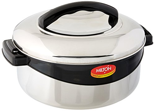 Milton Regent Hot Pot Keep Warm/Cold Upto 4-6 Hours Insulated Casserole with Stainless Steel Insert, 1.5 Liter