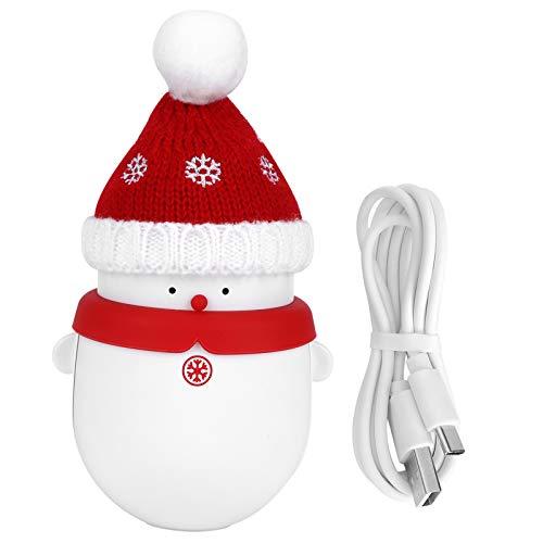 Qqmora Calentador de Manos Recargable portátil para Llevar a estrenar para la Oficina en casa(Rojo, Tipo de Torre Inclinada de Pisa)