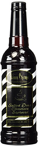 Salted Dark Chocolate Espresso Jordan#039s Skinny Syrups Sugar Free