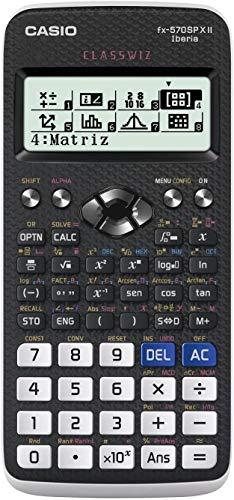Casio FX-570SPXII, Calculadora Científica, Recomendada para el Curriculum Español y Portugués, 576 Funciones, 11.1 x 77 x 165.5 mm, Gris/Blanco