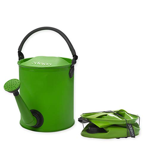 Colapz Collapsible Watering Can - Collapsible Bucket - Folding Bucket - Campervan Accessories UK - Green