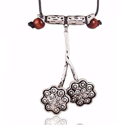 Empty Choker halskettingen dames halskettingen & hanger handgemaakte lotushanger vrouwen halsketting