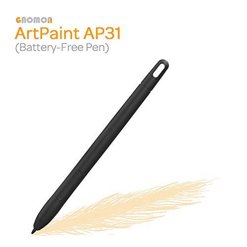 GAOMON AP31 lápiz sin batería con 8192 Niveles de presión para la Tableta Gráfica M10K 2018 versión
