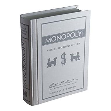 Winning Solutions Monopoly Vintage Bookshelf Edition