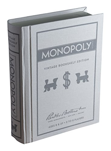 Monopoly Vintage Bücherregal Edition