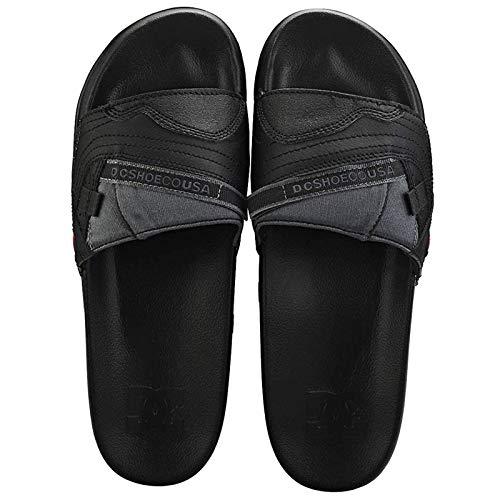 DC Shoes Men's Williams Slide Sandals Black 11