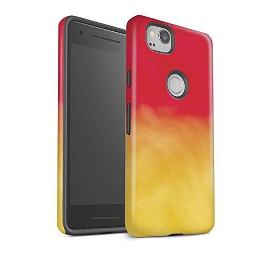 Stuff4 matte schokbestendige beschermhoes/cover/behuizing/telefoon voor Google Pixel 2 / wol kleur spoorgo/oogschaduw van Moda Design