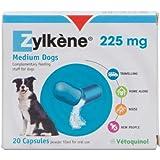 Zylkene - Integratore in capsule per cani e gatti - Pacco da 20 (20 x 225mg) (Assortiti)