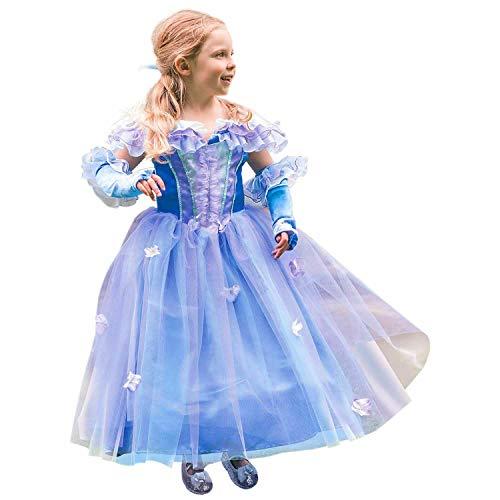 Princesse Fleur Par Travis Designs-Bleu Bal Cendrillon by Travis Designs