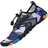 Zapatos de Agua Hombre Escarpines Surf Mujer Verano Zapatillas de Río Calzado para Natacion Antideslizante EST: 2 Morado 39 EU