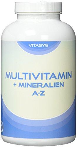 Vitasyg Multivitamin - 365 Tabletten - Jahresvorrat - 1 Tablette täglich, 1er Pack (1 x 475 g)