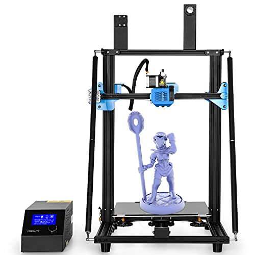 DBKJ Official Creality CR-10 V3 Upgraded 3D Printer With UL Certified Power Supply Upgrade Silent Motherboard And Silicon Carbide Glass Platform Using All-metal Extrusion Mechanism 300 * 300 * 400mm