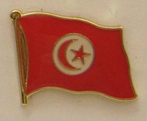 Tunesien Pin Anstecker Flagge Fahne Nationalflagge Flaggenpin Badge Button Flaggen Clip Anstecknadel