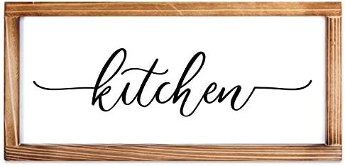 Kitchen Sign Rustic Kitchen Decor Sign Modern Farmhouse Kitchen Decor Kitchen Wall Decor Rustic product image