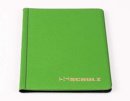 SCHULZ Münz-Taschenalbum für 96 Stück 2 Euro Münzen - NEU (Green)