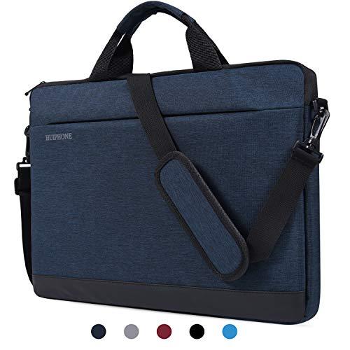 dealcase Laptoptasche für 39,6 cm (15,6 Zoll) Acer Aspire E 15 / Acer Predator Helios 300 / Lenovo ASUS Dell HP 39,6 cm (15,6 Zoll) Laptoptasche blau dunkelblau 15.6 Inch