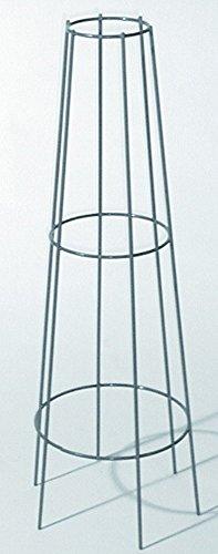Gartenwelt Riegelsberger Ranksäule/Rankgitter verzinkt bellissa Höhe 130cm