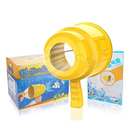 Wissenschaft Pädagogisches Spielzeug Physik Experiment Spielzeug Kinder DIY Luftkanone Spaß Physikalisches Spielzeug Pädagogisches Wissenschaftsmodell Für Grundschulkinder Kleinkinder Ab 6 Jahren