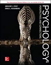 Psychology: Perspectives and Connections 4th Edition
