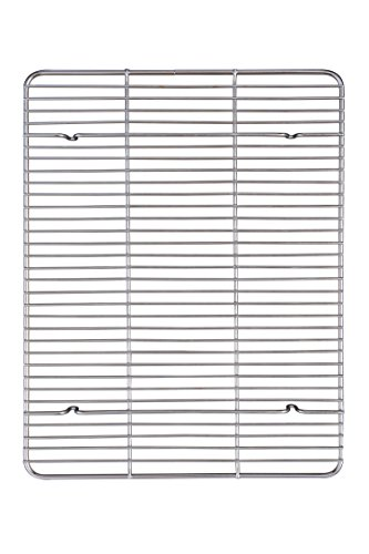 Mrs. Anderson's Baking Professional Baking and Cooling Rack, Heavyweight Chrome, 16.5-Inches x 13-Inches by HIC Harold Import Co.