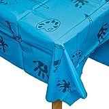 Baker Ross AC773 Blaue Plastik Tischdecke / Splashmat,150cm x 150cm - 3