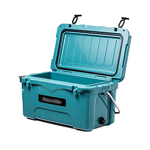 SHENXINCI Refrigerador de 22 Cuartos Almuerzo Nevera Portatil Bolsa Térmica,con Mango Portátil Congelador Portátil,Refrigere Alrededor de 60-80H,para Acampar (con 20 Bolsas de Hielo)