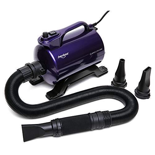 shernbao High Velocity Professional Dog Pet Grooming Hair Drying Force Dryer Blower 5.0HP (Super Cyclone) SHD-2600P