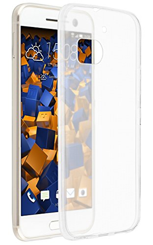 mumbi Hülle kompatibel mit HTC 10 Handy Hülle Handyhülle dünn, transparent
