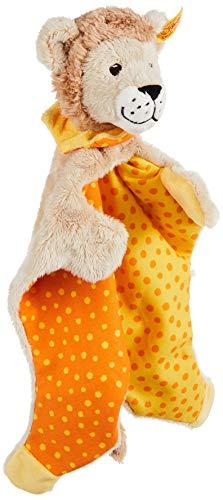Steiff 240621 - Leon Loewe Schmusetuch 28, beige/gelb/orange