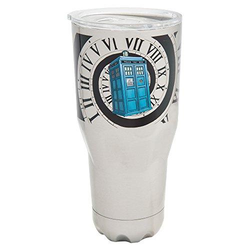 Vandor 16309 Doctor Who 30 Oz. Stainless Steel Vacuum Tumbler