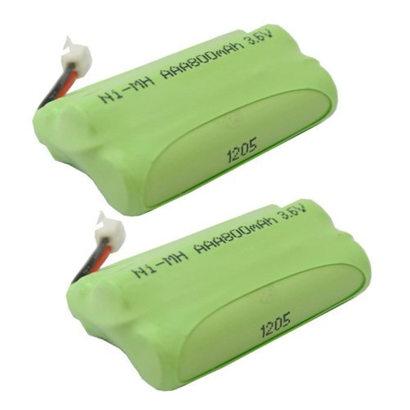 行き当たりばったりパシフィック確かに【掘出】2個セット パナソニック ( panasonic ) コードレス子機用充電池【 KX-FAN50 / HHR-T404 / BK-T404 対応互換電池 】