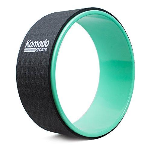 TekBox Komodo Yoga Wheel for Pilates, Exercise, Stretching, Back Workout, Physio Massages...