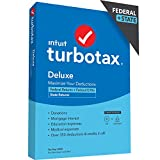TurboTax Deluxe is recommended if: You own a home, have charitable donations to deduct, have high medical expenses, and only need to file a Federal Tax Return Includes 5 free federal e-files and one download of a TurboTax state product (dollar 40 val...